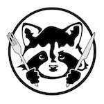 The Hungry Raccoon (Delivery and Takeaway) Logo